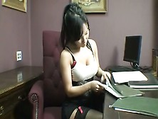 Ballbusting By Chineese Girl