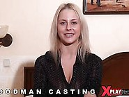Petite Blonde Euro Girl Gets Rammed During A Casting