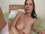 Milf Miriam Is Smiling And Undressing Very Sexy