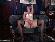Mature Pussy Is All Wet From Her Solo Masturbation
