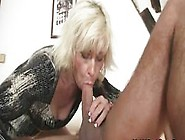 Blonde Mother Inlaw Seduces Married Man