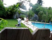 Spying On Nude Bigtit Neighbor