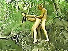 Swedish Skinny Babe Loves Getting Pounded Outdoors