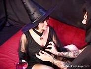 Velvet Ecstasy - Jasmine & Morgan - A Halloween Toa