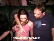 Wild Slut Insane Public Gangbang In A Porn Theater With No Testi