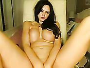 Slender Big Breasted Smoking Brunette Nympho Rubbed Her Bald Cun