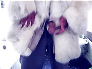 Very Fluffy Polar Fox Fur And I Have A Good Cumshot