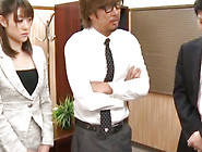 Obedient And Sexy Japanese Office Lady Is Sucking Sticks