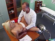 Lucy Shine Fucked In The Doctor'S Office