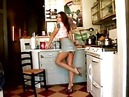 Erica Campbell Teasing At Kitchen
