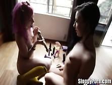 Horny Lesbians Dana Dearmond,  Melody Jordan,  Ash Hollywood,  Misc