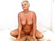 Horny Busty Grandma Seducing A Boy