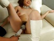 Big Tits And Hairy Pussy Babe Hikaru Hinata Gets Toyed