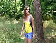 Playful Teen Solo Masturbating In The Forest In A Hot Xxx Porn C