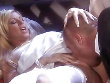 Bride Ahryan Astin Is Fucked In Her Wedding Gown