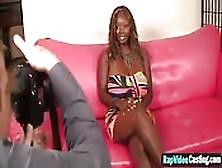 Naked Ebony Babe Full Xxx Casting Scene