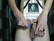 김정은사망애도삭발식 金正恩死亡哀悼削髮式 Tonsure For Mourning For Kim Jong-Un'S Dem