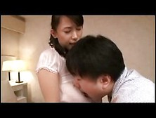 Horny Asian Woman Is Cheating On Her Husband With A Guy Who Know