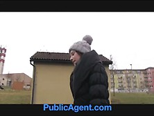 Publicagent Outdoor Sex Filmed On Amateur Camcorder In Public Pl