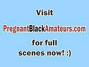 Delivery Man Banging Horny Black Pregnant Pussy