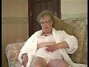 Ugly Granny Teases With Her Tits And Booty