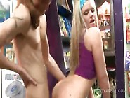 Teen Hot Blonde Goes All The Way And Gets Fucked In Public