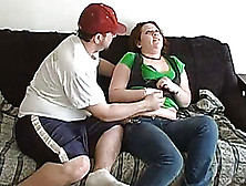 Fat Redhead Girlfriend Gets Cuddled And Fucked
