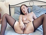 Sveta - Amateur Hairy Pussy Solo Masturbation