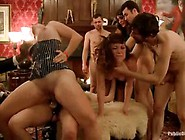 Horny Boys And Girls Are Having Group Sex In The Villa,  Instead