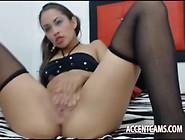 Sexy Latina Teen Mastubate Fast Deep Anal Pussy
