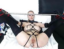 Fetbdsm - Slave Spread Tortured Gagged. Mp4