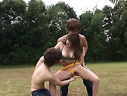 Sexy Babe Rides Hard Cock On A Camping Trip