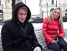 Brian & Lina Napoli In Blonde Fucked By A Pickuper - Casualteens