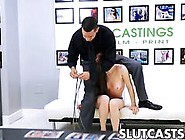 Skinny Ass Teen Has A Spank For Her Casting
