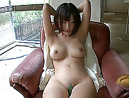 Yummy Rei Aimi Gets Teased With Wicked Toys Sitting On A Couch