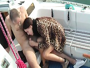 Aurita In Sex On A Boat In A Lusty Homemade Sex Video
