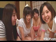 Japanese Women Have Group Sex With One Man
