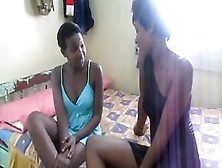 African Hot Girls Are In Erogenous Mood And Enjoying Lesbian Man