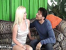 Wankz - Tight Teen Pussy Gets A Surprise Creampie!