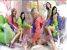 Sexo De Grupo Bizarro Con Babes De 18 Años Checas Calientes Y Se