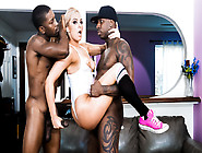 Dahlia Sky & Jon Jon & Isiah Maxwell In Cheering For Black Cock