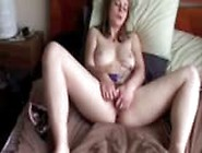 Hairy Girl Has Shaking Orgasm