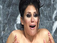 A Busty Milf With A Sexy Ass Is Getting Rammed In The Bathroom
