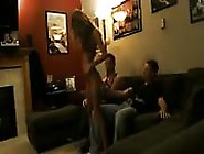 She Gave These Horny Guys A Lap Dance And Fuck