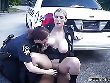 Two Super Horny Police Ladies Decided To Fuck A Black Guy They J