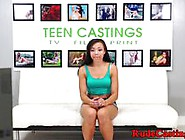 Casting Petite Teen Squirts Before Roughsex Video