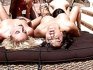Sunny Leone,  Georgia Jones,  Kiara Diane,  Capri Anderson Have Les