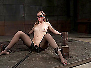 Alluring Slave Getting Worse Face Fucking In Bdsm Torture