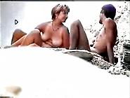(Xxx-----) Spy Cam - Beachhunter - Guy Fucks Girl On Nude Beach