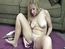 Big Veggies Fuck Her Amateur Milf Pussy Nice And Deep